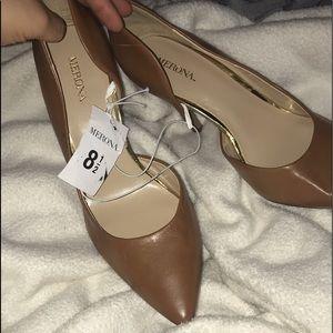 Cognac/Nude Heels